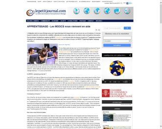 Sujet MOOC en ligne